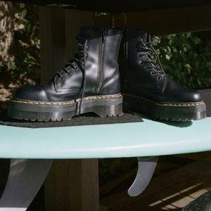 Jadon Platform 8 Eye Boot 🖤